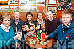 Ringing 2017: Ringing in the New Year at Mike the Pie's Bar, Listowqel were Teresa Collins, Mike & Helen Corridan, Marie & John McEnery & Michael Collins.