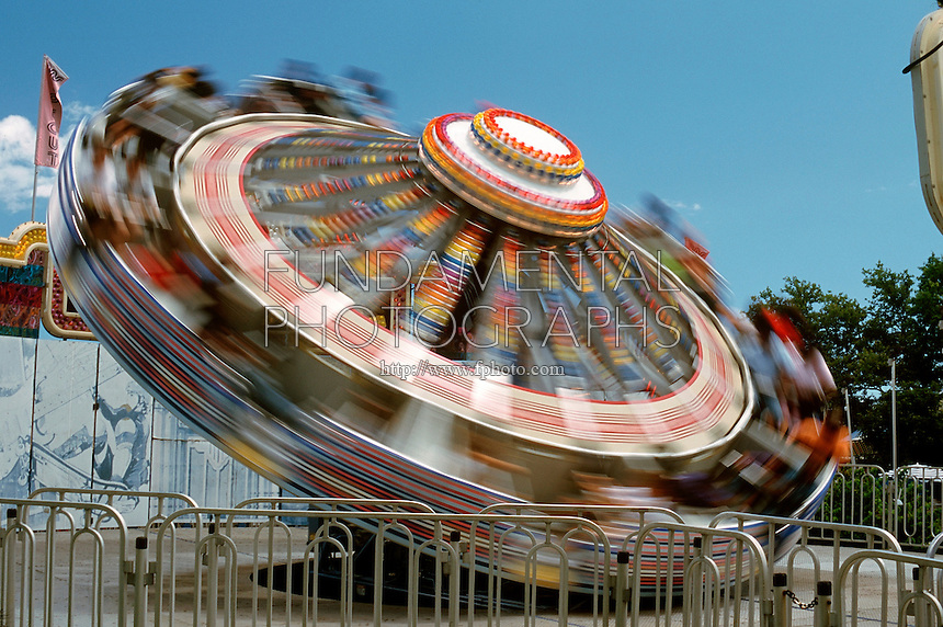AMUSEMENT PARK RIDES<br /> Wipeout<br /> Spinning bobbing ride