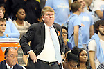 11 November 2013: UNC associate head coach Andrew Calder. The University of North Carolina Tar Heels played the University of Tennessee Lady Vols in an NCAA Division I women's basketball game at Carmichael Arena in Chapel Hill, North Carolina. Tennessee won the game 81-65.