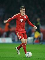 Fussball Bundesliga Saison 2011/2012 26. Spieltag Hertha BSC Berlin - FC Bayern Muenchen Toni KROOS (FCB).