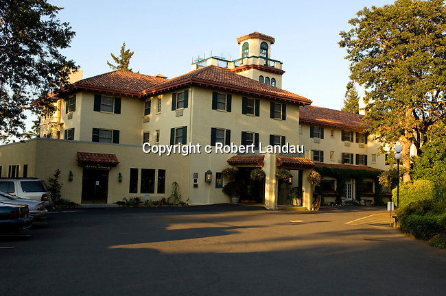 The Columbia Gorge Hotel in Hood River, OR