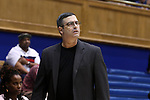 15 November 2016: Longwood head coach Bill Reinson. The Duke University Blue Devils hosted the Longwood University Lancers at Cameron Indoor Stadium in Durham, North Carolina in a 2016-17 NCAA Division I Women's Basketball game. Duke won the game 105-48.