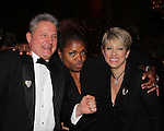 The 20th Annual Hearts of Gold Gala - All That Glitters - A Black Tie Ball - with founder and president Deborah Koenigsberger and her husband Thilio and Cindy Finkelman on October 27, 2016 at Capitale, New York City, New York.  (Photo by Sue Coflin/Max Photos)