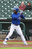 Iowa Cubs infielder Arismendy Alcantara (7) at the plate during a Pacific Coast League game against the Colorado Springs Sky Sox on May 1st, 2016 at Principal Park in Des Moines, Iowa.  Colorado Springs defeated Iowa 4-3. (Brad Krause/Four Seam Images)