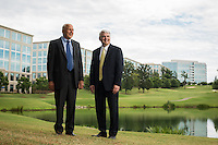 Smoky Bissell and Ned Curran Ballantyne Charlotte Developers for The Wall Street Journal