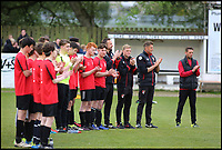 BNPS.co.uk (01202 558833)<br /> Pic: RichardCrease/BNPS<br /> <br /> Minutes applause for Louis<br /> <br /> Charity football match in aid of the Louis Ross Foundation held at Wimborne Town Football Club  with guest managers Eddie Howe and Graeme Souness taking charge of the  two teams made up of former school friends and football friends of Louis, 17, who died in a skiing accident in France.
