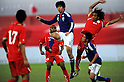"?R'º~a-ç/Kazuya Yamamura, ¬-ì--T""ñ/Yuji Ono (JPN),..FEBRUARY 12, 2011 - Football :..International friendly match between U-22 Bahrain 0-2 U-22 Japan at the Bahrain National Stadium in Manama, Bahrain. (Photo by FAR EAST PRESS/AFLO)"
