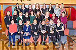 Past Students of St. Brigid's Presentation Secondary School Killarney who held their class reunion in the Killarney Avenue Hotel on Wednesday 28th December front row l-r: Anna Marie Leane, Lorraine O'Shea, Christina Dennehy, Siobhan O'Sullivan , Elma Walsh, Christine Mannix, Mags O'Leary . Middle row:  Ella Murphy, Marguerite O'Donoghue, Eileen O'Connell, Anne O'Sullivan Rouse, Mairead O'Sullivan, Moira Murphy, Anita O'Mahony, Joan O'Grady, Siobhan O'Donoghue Back row: Jacinta O'Neill, Fiona O'Leary, Shirley Lynch, Catherine Buckley, Mary Leane, Noreen Fitzgerald, Michelle Buckley, Vivienne O'Donoghue