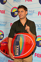 LOS ANGELES - JUL 22:  Zac Efron in the Press Room of the 2012 Teen Choice Awards at Gibson Ampitheatre on July 22, 2012 in Los Angeles, CA