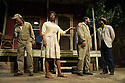 FENCES, by August Wilson, opens at the Duchess Theatre, in London's West End, following a successful run at Theatre Royal Bath. Lenny Henry takes on the lead role of Troy Maxson in, this production, which is directed by Paulette Randall. Picture shows: Colin McFarlane (Jim Bono), Tanya Moodie (Rose), Lenny Henry (Troy Maxson) and Peter Bankole (Lyons).