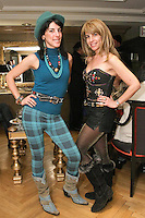 Esther and Shelly Nash attend the Romas by Linda Rowe Thomas, Fall/Winter 2011 collection, during New York Fashion Week.