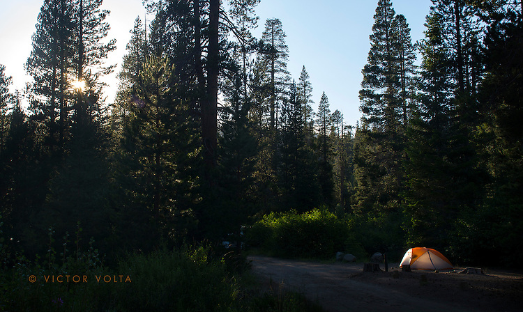 Red's Meadow campsite