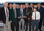 St Johnstone Player of the Year Awards 2014-15.....16.05.15<br /> The Blues Boys Player of the Year Award to Chris Millar<br /> Picture by Graeme Hart.<br /> Copyright Perthshire Picture Agency<br /> Tel: 01738 623350  Mobile: 07990 594431
