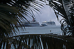 Cruise Ships in Dock St. Maarten