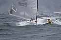 Ben Ainslie in action during day 5 of racing. The JP Morgan Asset Management Finn Gold Cup 2012. Falmouth.Credit: Lloyd Images