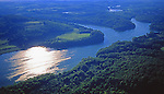Aerial, Pennsylvania, Blue Marsh Lake, Berks Co.