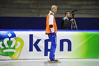SCHAATSEN: HEERENVEEN: IJsstadion Thialf, 17-06-2013, Training zomerijs, Team Pursuit, Arie Koops, ©foto Martin de Jong