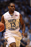 08 November 2008: North Carolina's Will Graves. The University of North Carolina Tarheels defeated the University of North Carolina at Pembroke Braves 102-62 at the Dean E. Smith Center in Chapel Hill, NC in an NCAA exhibition basketball game.