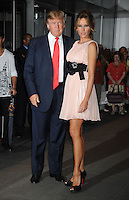 Donald Trump and Melania Knauss Trump at the screening of 'The September Issue' at The Museum of Modern Art  in New York City. August 19, 2009 Credit: Dennis Van Tine/MediaPunch