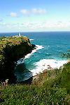 Hawaii: Kauai, at Kilauea Lighthouse.  Photo hifree133.Photo copyright Lee Foster, 510/549-2202, lee@fostertravel.com, www.fostertravel.com