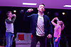 Fury <br /> by Phoebe Eclair-Powell<br /> at Soho Theatre, London, Great Britain <br /> 7th July 2016 <br /> press photocall <br /> <br /> Alex Austin <br /> Daniel Kendrick <br /> Sarah Ridgeway <br /> <br /> <br /> Photograph by Elliott Franks <br /> Image licensed to Elliott Franks Photography Services