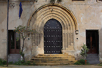 Portal of Palazzo Forcella, 1832, Palermo, Sicily, Italy. Picture by Manuel Cohen