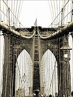 Brooklyn Bridge; also available in b&w