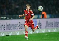 Fussball Bundesliga Saison 2011/2012 26. Spieltag Hertha BSC Berlin - FC Bayern Muenchen Philipp LAHM (FCB).