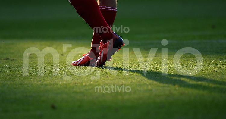FUSSBALL  1. Bundesliga   2013/2014   Testspiel  FC Ingolstadt 04 - Borussia Moenchengladbach    13.07.2013 Beine mit Adidas Fussballschuhe