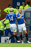 Rangers v St Johnstone....28.08.10  .Kenny Miller celebrates his goal.Picture by Graeme Hart..Copyright Perthshire Picture Agency.Tel: 01738 623350  Mobile: 07990 594431