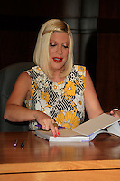 "LOS ANGELES - APR 17:  Tori Spelling at a signing for her book ""celebraTORI"" at Barnes & Noble at The Grove on April 17, 2012 in Los Angeles, CA"