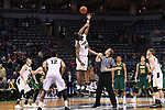 MILWAUKEE, WI - MARCH 16:  The Purdue Boilermakers and Vermont Catamounts tip off during the 2017 NCAA Men's Basketball Tournament held at BMO Harris Bradley Center on March 16, 2017 in Milwaukee, Wisconsin. (Photo by Jamie Schwaberow/NCAA Photos via Getty Images)