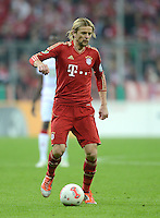 FUSSBALL  DFB POKAL       SAISON 2012/2013 FC Bayern Muenchen - 1 FC Kaiserslautern  31.10.2012 Anatoliy Tymoshchuk  (FC Bayern Muenchen)