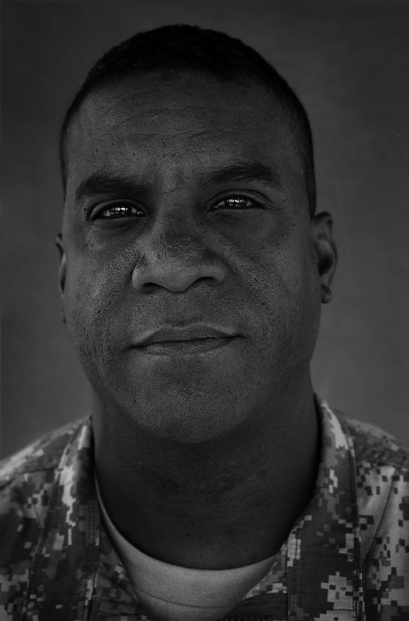 Colonel Bryan T. Roberts, 40. Hampton, VA. Commander, 2nd Brigade 1st Cavalry Division. Taken at Camp Liberty, Baghdad on Friday May 25, 2007.