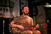 Justin Vernon performs as Bon Iver during the 2008 SXSW music festival in Austin, TX.
