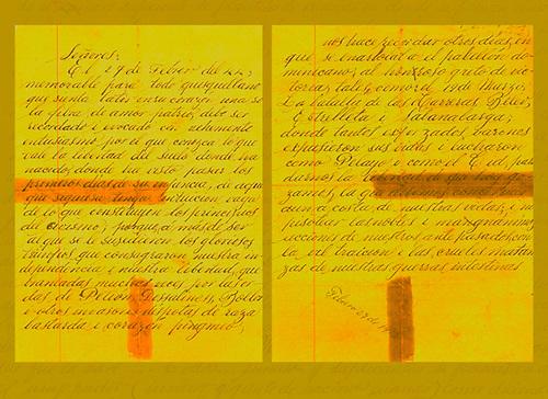 Manuscrito del Sil Adrover, 1913