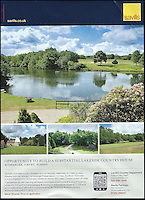 BNPS.co.uk (01202 558833)<br /> Pic: Savills/BNPS<br /> <br /> ***Please use full byline***<br /> <br /> The pages of Country Life are often now filled with 'Opportunity to build' adverts for country estates requiring a large house....Savills are offering this one in Surrey.<br /> <br /> To the Manor Reborn...<br /> <br /> Britain's super rich are turning their backs on the decaying stately piles beloved by the aristocracy and building brand new modern mansions on their country estates.<br /> <br /> Rather than investing in the leaky roofs and draughty windows of days gone by, modern millionaires are choosing to build plush pads from the ground up.<br /> <br /> And they are filling their dream homes with every conceivable luxury without the need for a bottomless sink fund to pay for the costly upkeep of older houses.<br /> <br /> Estate agents specialising in top-end properties have reported a clear swing from grand Victorian manor houses to state of the art modern homes kitted out with all the mod cons.<br /> <br /> The multi-million pounds properties have been popping up across the country over the past few years - and are now being heralded as the stately homes of the future.