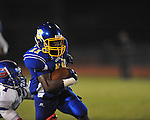 Oxford High's Glenn Gordon (11)  vs. Grenada in Oxford, Miss. on Friday, August 17, 2012. Oxford won 28-22.