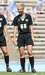 14 October 2007: Wake Forest's Samantha Germano. The University of North Carolina Tar Heels defeated the Wake Forest University Demon Deacons 1-0 at Fetzer Field in Chapel Hill, North Carolina in an Atlantic Coast Conference NCAA Division I Womens Soccer game.