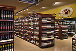 Safeway - Pleasanton Store - wine section : Architecture photographs by San Francisco Bay Area - corporate and annual report - photographer Robert Houser.