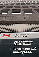 Tour sud Jean Edmonds South Tower hosting Citizenship and immigration (citoyennete et immigration) is pictured in Ottawa September 27, 2010.