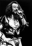 Jethro Tull 1974 Ian Anderson at the Rainbow<br /> &copy; Chris Walter