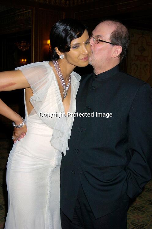 Salman Rushdie Padma Lakshmi