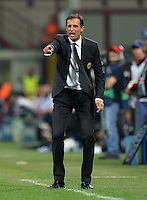 FUSSBALL   CHAMPIONS LEAGUE   SAISON 2012/2013   GRUPPENPHASE   AC Mailand - Anderlecht                            18.09.2012 Trainer Massimilliano Allegri  (AC Mailand)