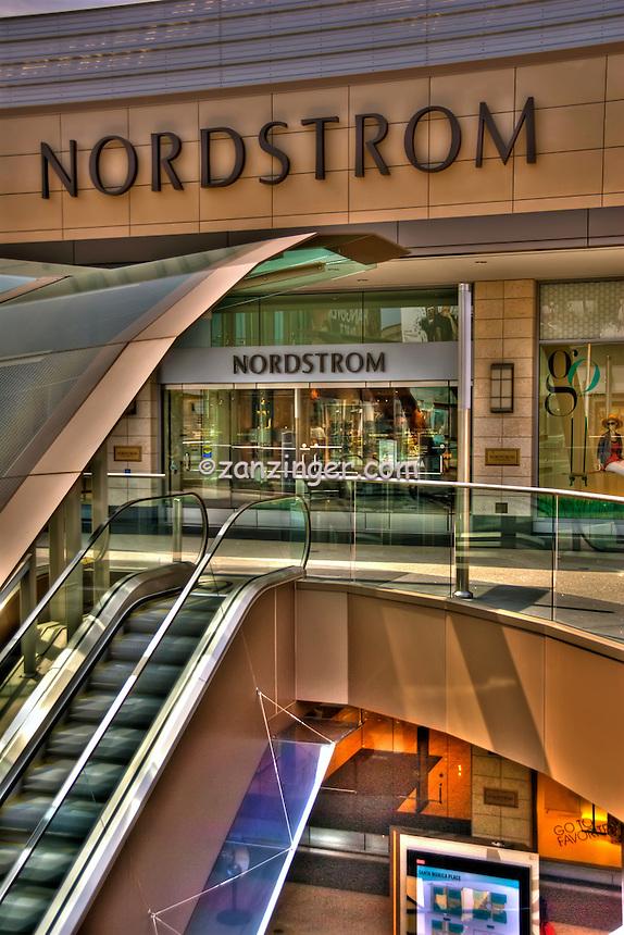 Nordstroms, Department Store, Santa Monica Place, shopping mall, Santa Monica, CA