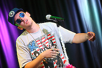 BALA CYNWYD, PA - JULY 21 :  GNASH visits Q102 performance studio in Bala Cynwyd, Pa on July 21, 2016  photo credit Star Shooter / MediaPunch
