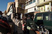 Deliveries in the streets of Nakasero.