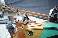 ZEILSPORT: LANGWEER: 22-04-2017, Skûtsjesilen Langweer, Skûtsje Twee Gebroeders (Langweer   SKS), schipper Jaap Lzn. Zwaga, ©foto Martin de Jong
