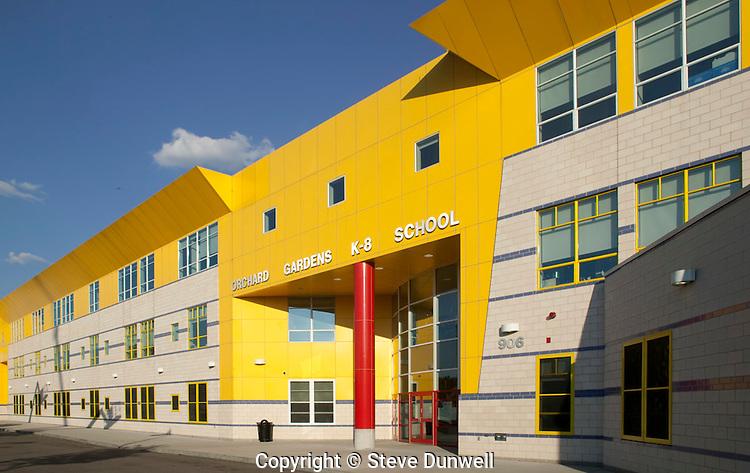 Orchard Gardens School Boston Ma Steve Dunwell