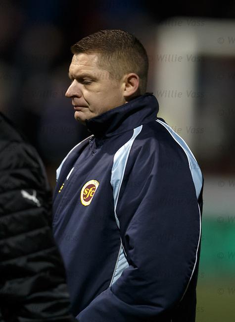 Martyn Corrigan looking deflated